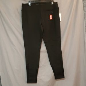 NEW Danskin Legging Compression Mesh Large Black